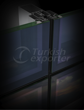 Curtain Wall System CE 50 Turkey, Turkish Manufacturer Company ...