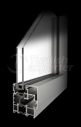 Heat Insulated Door Window System