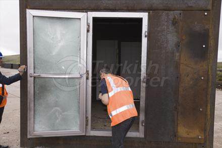 Blast Resistant Door and Facade System