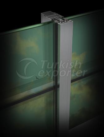 Aluminum Skylight System TE 50