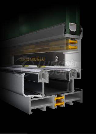 Sliding Joinery System IZO SLS