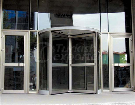 Manual Revolving Door