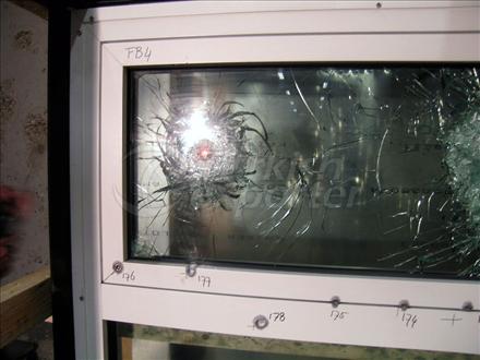 Bullet Resistant Door Window AR 83 3