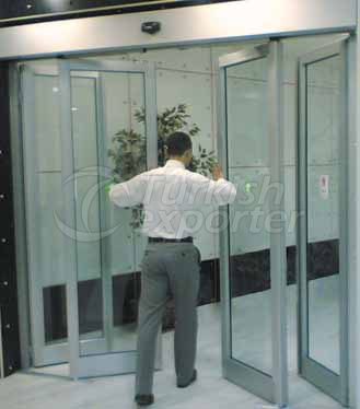 Anti Panic Sliding Door