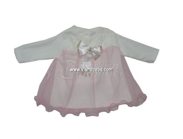 Baby Girl Dress with Stone