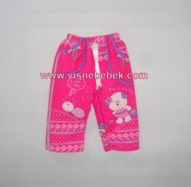 Printed Polar Pants