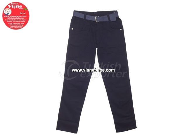 Linen School Pants