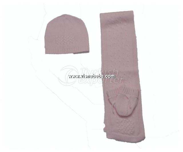 Scarf-Barret-Gloves