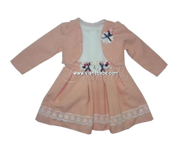 Bolero Semolin Baby Girl Dress