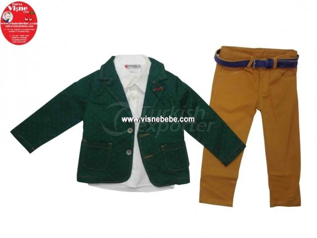 4 Pcs Jacket Set