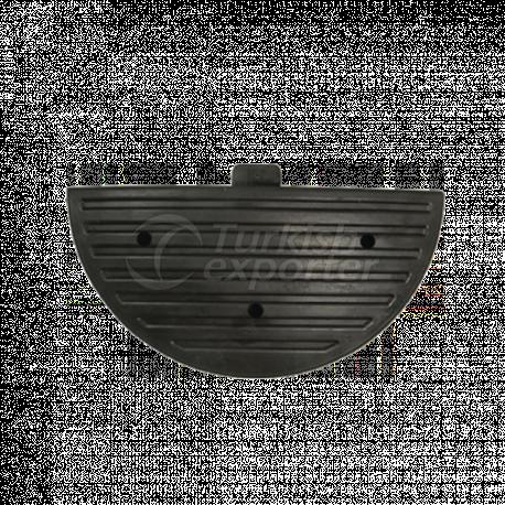 Rubber Speed Ramp Header- CR 9001