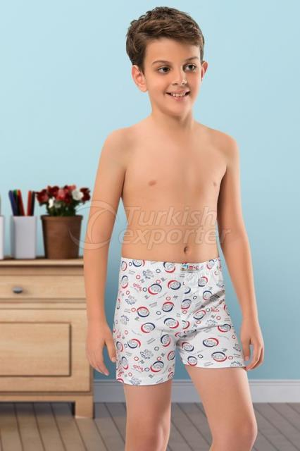 752-COMBED COTTON PRINTED BOXER