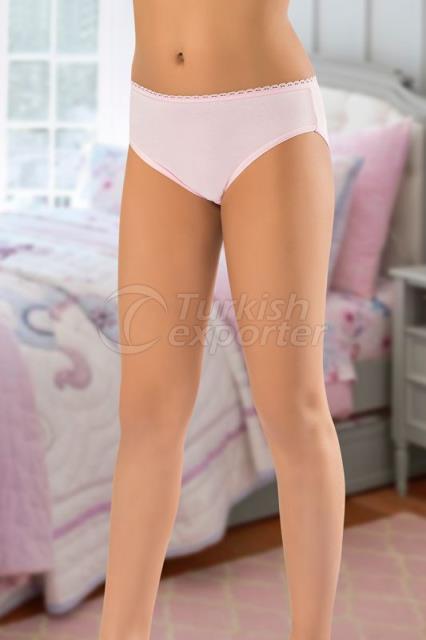 857-LYCRA GIRL PANTIES