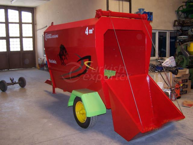 Feed Mixing Machine 4m3