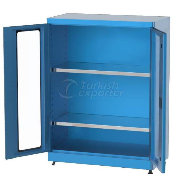 Material Cabinet with Shelves 6246