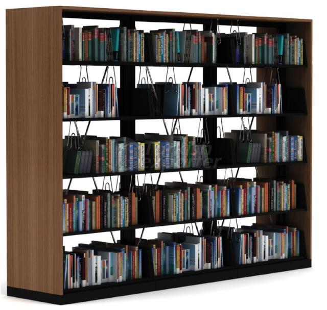 Triple Bookcase System
