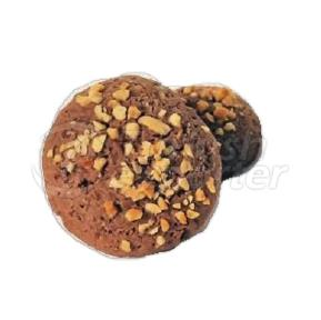 Cocoa Cookies with Peanut