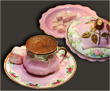 Authentic Turkish Coffee Cups