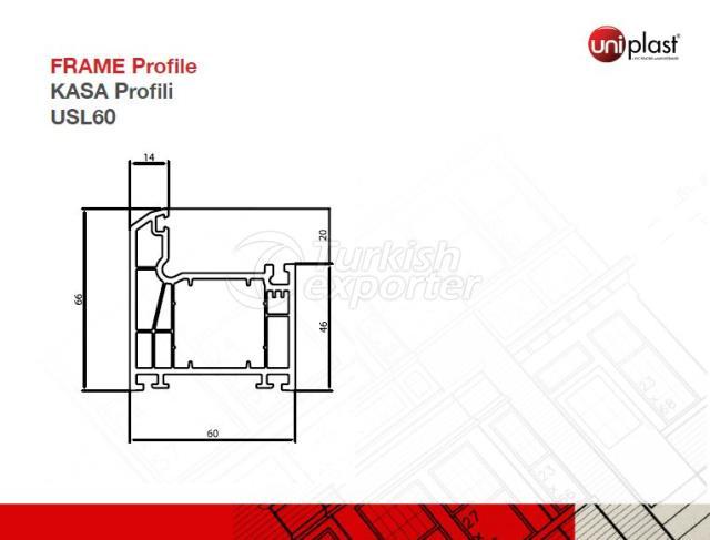 Frame Profile USL60