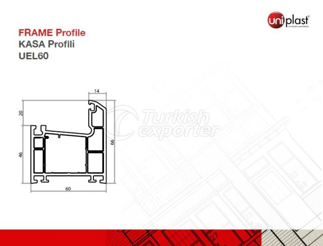 Frame Profile UEL60