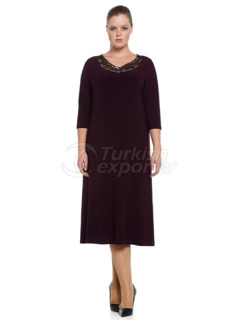 Plaid Black Dress