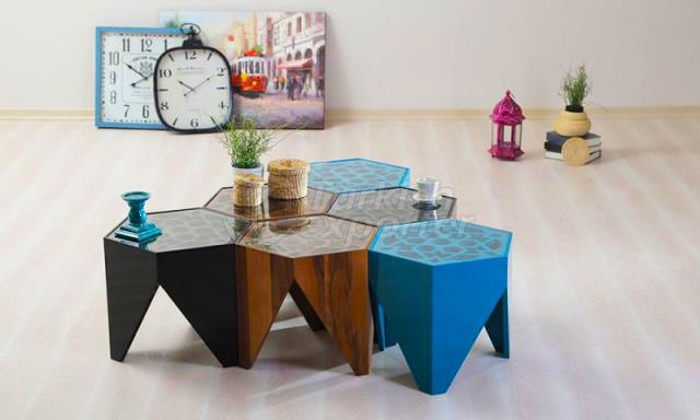 Lobby Furniture Ottoman