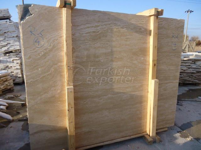 Light Travertine Slabs