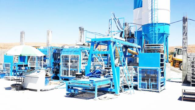 Full Automatic Concrete Products Plant