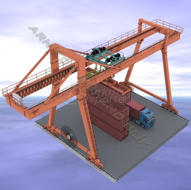 Container lifting Crane