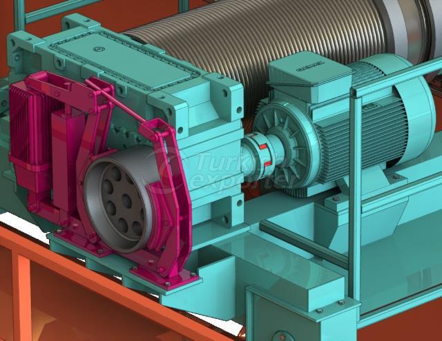 Crane Hydraulic Brake
