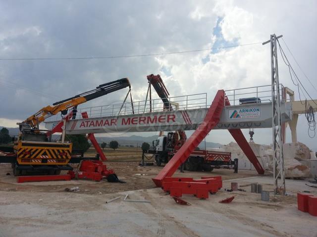 Gantry Crane installation and assem