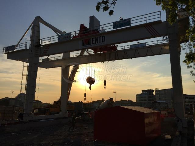 Gantry Crane for Shaft