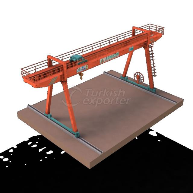 Gantry Cranes With Consoles