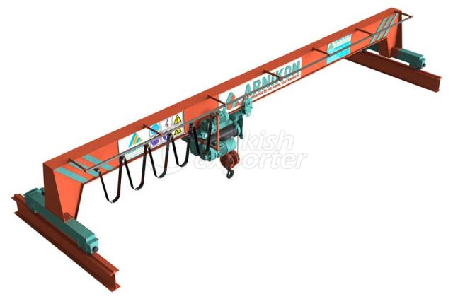 Single Girder Electrical Overhead Crane