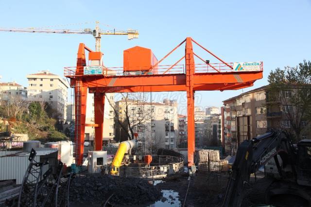 Shaft Gantry Crane