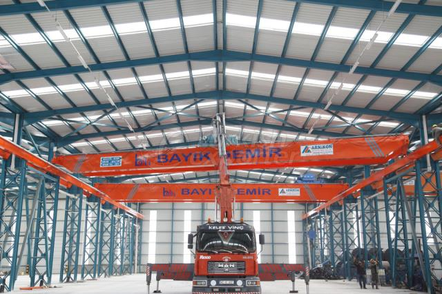 Underslung Overhead Cranes - Low Headroom