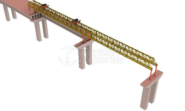 beam launcher crane