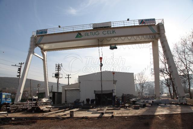 Gantry Crane Supplier in Turkey