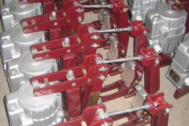 Electrohdraulic (Eldro) Brakes