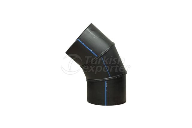 HDPE Segmented 45 Elbow