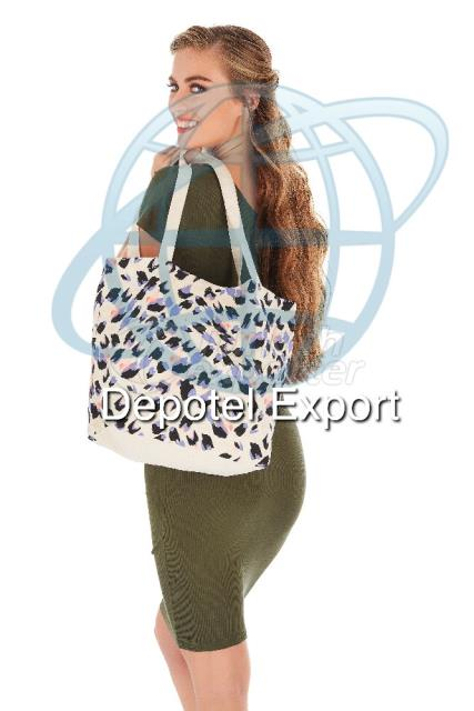 Cotton Bag 4811 Ecolusive Leopard