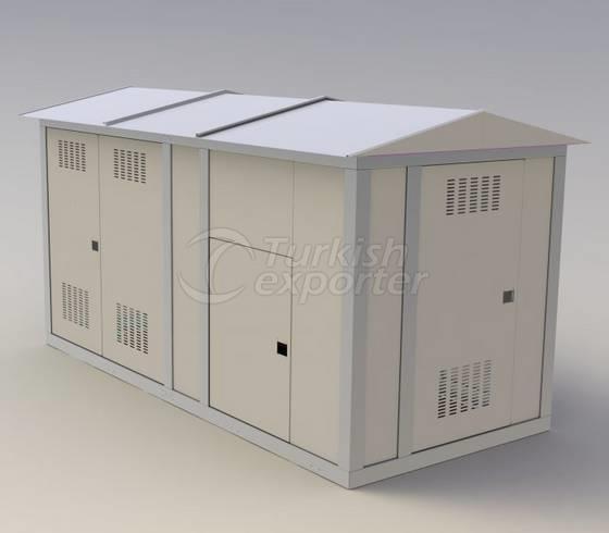 Steel Kiosk Type Substations