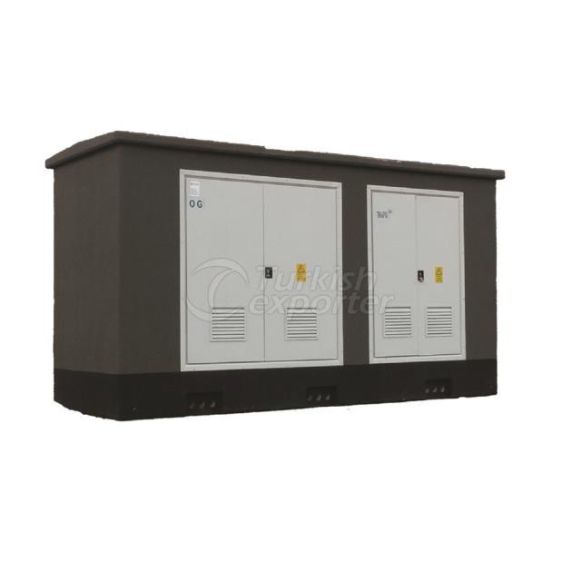 Monoblock Type Concrete Kiosk Substation