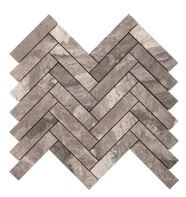 Herringbone Large Phantise Gray