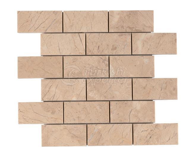4,8x10 Bursa Beige Brick Mosaic