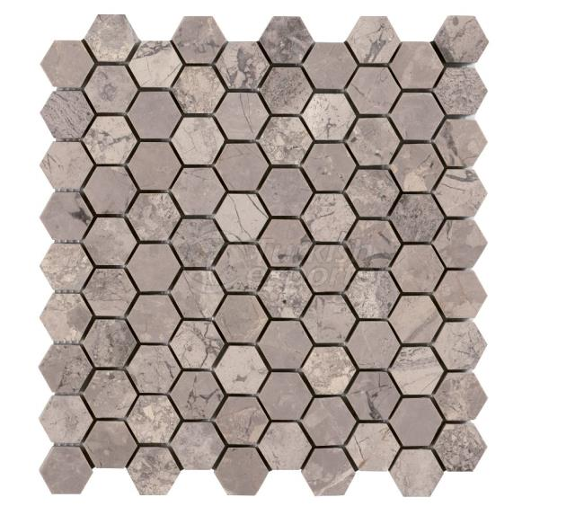 Honeycomb Phantasie Gray 3,2 cm