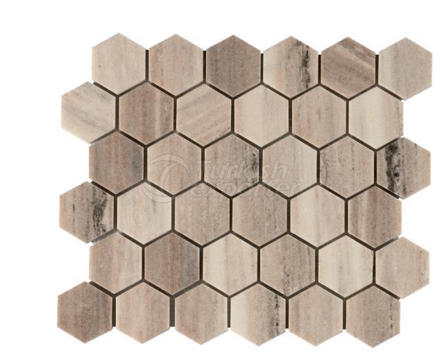 Honeycomb Palissandro 4,8 cm
