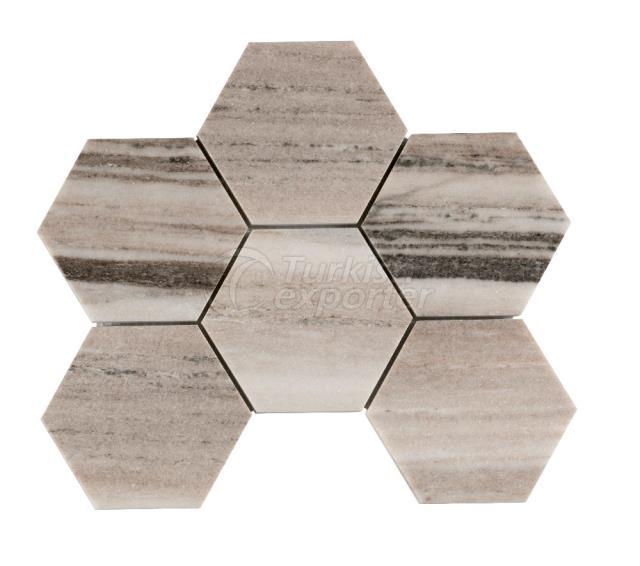 Honeycomb Palissandro 10 cm