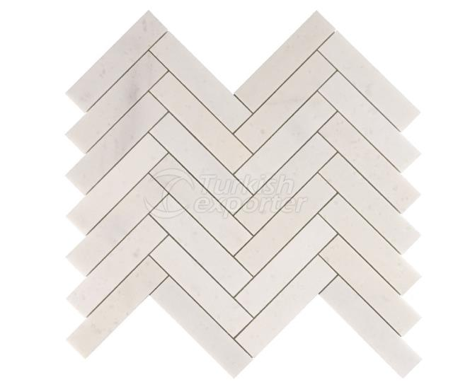 Herringbone Large Kemalpasa White