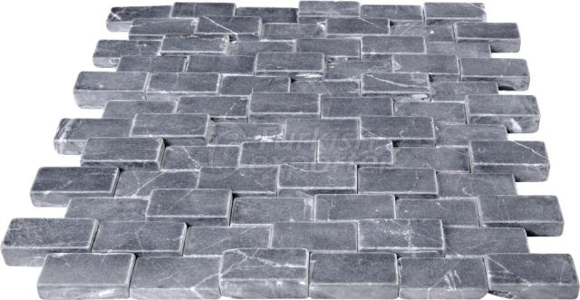 2,3x4,8 Cubic Brick Toros Black